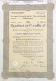 1000 Reichsmark titlu de stat Germania 1940