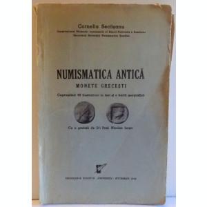 NUMISMATICA ANTICA, MONETE GRECESTI de CORNELIU SECASANU , 1939