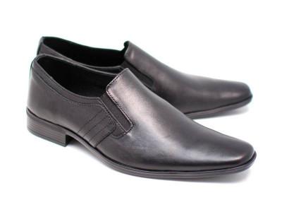 Pantofi barbati eleganti din piele naturala box - MARCONSEL foto