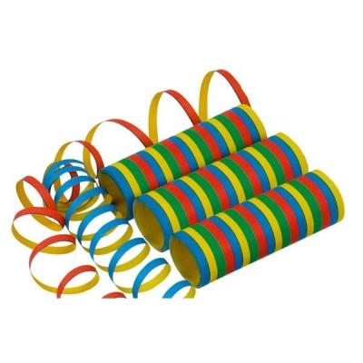 Serpentine colorate in dungi din hartie 0.7 x 400 cm foto