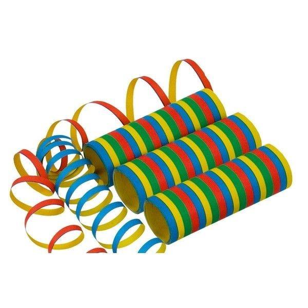 Serpentine colorate in dungi din hartie 0.7 x 400 cm