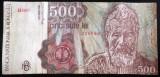 Bancnota 500 lei - ROMANIA, anul 1991 APRILIE   *cod 468 A