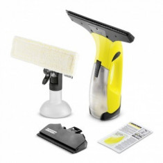 Aspirator de geamuri Karcher WV 2 Premium, 25 min, pana la 75 mc, Rezervor apa 100 ml