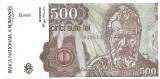 500 lei aprilie 1990.UNC