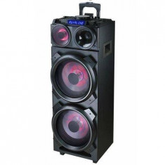 Sistem audio Akai DJ-3210 Bluetooth FM Efecte DJ Negru