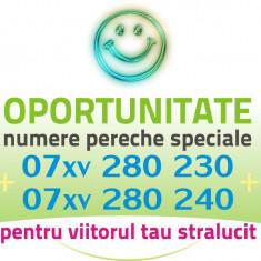 PERECHE Numere AUR Preferentiale VIP cartele numar special frumos usor cartela