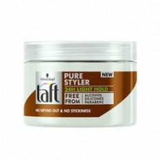 Gel de par Taft Pure Styler,pentru o coafura lejera nivel usor de fixare , 150 ml