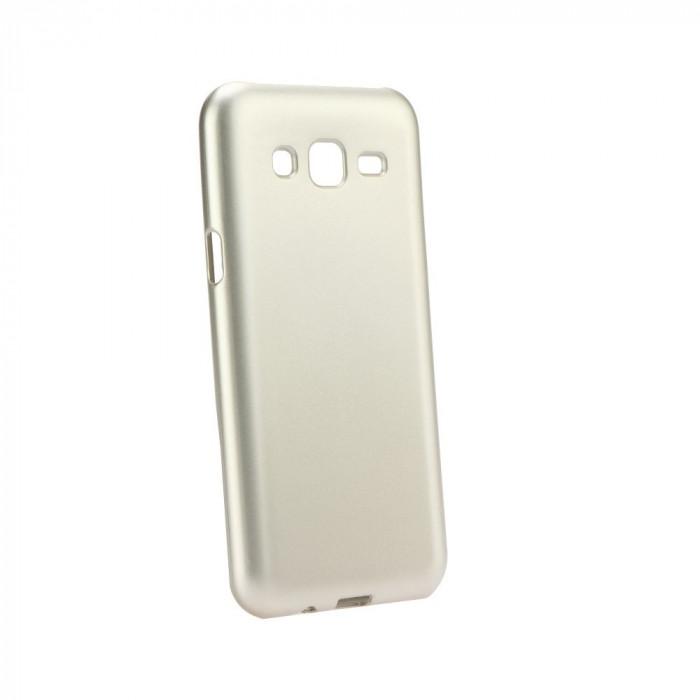 Husa SAMSUNG Galaxy J5 (2015) J500F - Jelly Mat (Auriu)