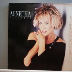 Agnetha Faltskog (ABBA) – I Stand Alone (1987/Warner/RFG) - Vinil/Impecabil(M)