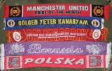 Fulare echipe fotbal:Galatasaray,Fenerbahce,Borussia Dortmund lady, Polska