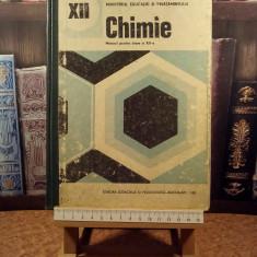 """C. D. Albu - Chimie manual pentru clasa a XII a """"A5274"""""""
