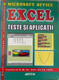 Excel Teste si aplicatii, Alta editura, 2003