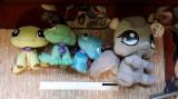 Littlest Pet Shop - 4 figurine mari de plus