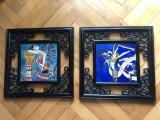 Tablou,pereche de tablouri mozaic ,Anglia