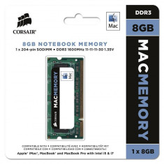 Memorie laptop Corsair Mac 8GB DDR3 1333MHz CL11