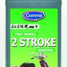Ulei moto mineral Comma Two Wheel 2 ST, 1 litru