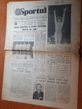Sportul 22 iulie 1981-nadia comaneci si echipa romaniei medalii de aur