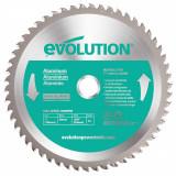 Cumpara ieftin Disc pentru fierastrau circular, taiere aluminiu Evolution EVOEVOBLADEAL-0422, O180 x 20 mm, 54 dinti