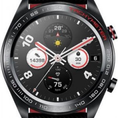 Smartwatch Huawei Honor Watch Magic, AMOLED 1.2inch, 16MB RAM, 128MB Flash, Bluetooth, Bratara silicon, 43mm, Android si iOS (Negru)