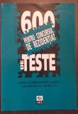 MEDICINA UMANA - 600 DE TESTE PENTRU CONCURSUL DE REZIDENTIAT - D.C. NODIT