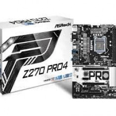 Placa de baza ASRock Z270 Pro4, Socket 1151, sigilata, garantie 6 luni