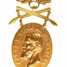 Medalia Barbatie si Credinta Clasa 1, modelul de razboi