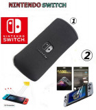 Husa Nintendo Switch Soft Negru + Screen Protector - 296