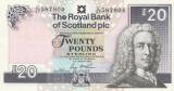 Scotia   20 Pounds 2016 Royal  Bank    P-354f   XF