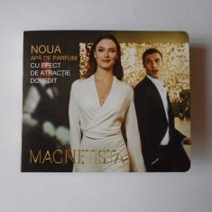 Mostra in sticluta cu brosura parfum femei - Magnetista - NOU