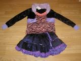 Costum carnaval serbare vrajitoare monster high pentru copii de 7-8 ani, Din imagine