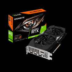 Placa video GIGABYTE GeForce RTX 2060 MINI ITX OC 6G, PCI-E 3.0 x 16,6GB GDDR6, 192 bit, Cuda Cores 1920, Core Clock: 1695 (Reference card:1680 bulk