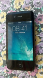 IPHON 4 MODEL A1332 / 16 GB . DISPLAY SPART,  FUNCTIONEAZA TOT PE EL .., Negru