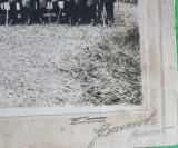 Fotografie lipita pe carton Reuniunea Ofiterilor de Vanatori de Munte