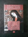 FABIAN ANTON - MARI DUHOVNICI ROMANI DESPRE MAICA DOMNULUI (2003)