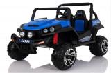 UTV electric pentru copii Golf-Kart 4x 45W 2x12V 2 locuri #Albastru
