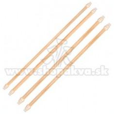 Stinghii pentru păsări, set din lemn - 45 cm