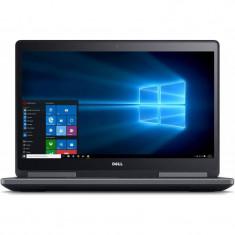 Laptop Dell Refurbished Precision 7710 17.3 inch FHD Intel Core i7-6920HQ 32GB DDR4 512GB SSD nVidia Quadro M3000M 4GB Windows 10 Pro Black foto