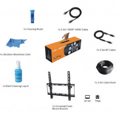 Kit suport TV LED/LCD, 7 piese, standard montare VESA 400 x 400 mm