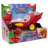 Cumpara ieftin Set figurina Eroi in pijama, Bufnita si planorul Speed Booster cu sunete, Unisex, Disney