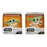 Set 2 figurine Star Wars, Baby Yoda, The Child, Holdme Balltoy, 5 cm