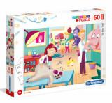 Cumpara ieftin Puzzle Maxi Super Color La Veterinar, 60 piese
