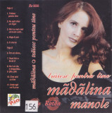 Caseta audio: Madalina Manole - Traiesc pentru tine ( 1996, originala )