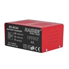 Redresor acumulator auto, Raider, RD-BC04, 62W, 12V, 4A Mania Tools