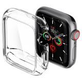 Cumpara ieftin Carcasa Spigen Ultra Hybrid Apple Watch 4/5/6/SE (40 mm) Crystal Clear