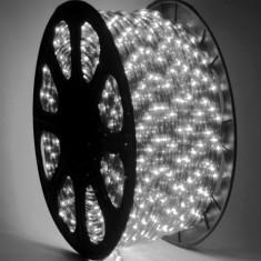 Furtun luminos alb cu LED, lungime 2 m