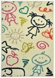 Covor Decorino Copii & Tineret C23-032202, Bej/Multicolor, 100x150 cm