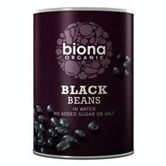 Fasole Neagra in Suc Propriu Bio Biona 400gr Cod: 5032722309791