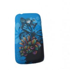 Husa Telefon Silicon Samsung Galaxy Ace 3 s7270 Blue Butterfly