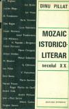 Mozaic istorico - literar  Secolul XX - Dinu Pillat cu autograf