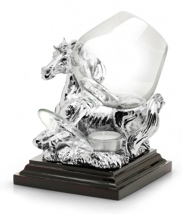 Incalzitor Cognac Silver Horse by Chinelli